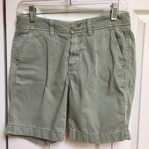 J CREW Sunday Slim Chino Boyfriend Khaki Shorts